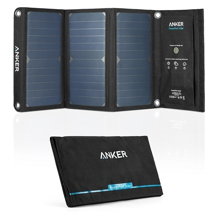 anker 21w solar charger review