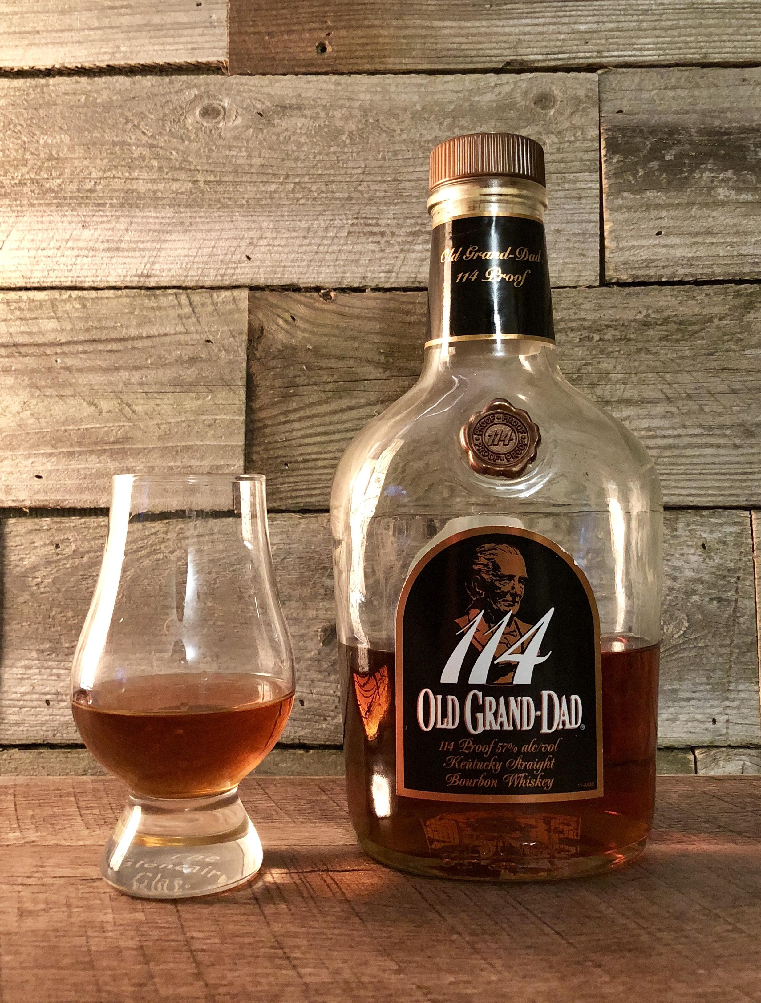 old grand dad 80 proof review