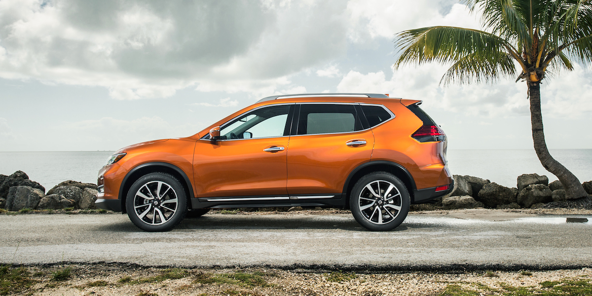 2017 nissan rogue consumer reviews