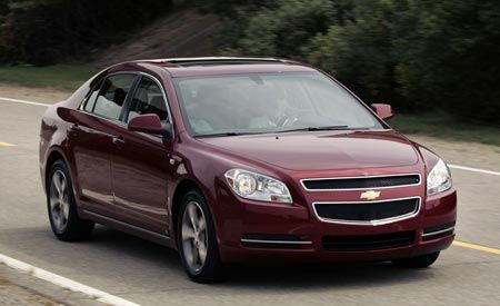 2008 chevy malibu 4 cylinder review