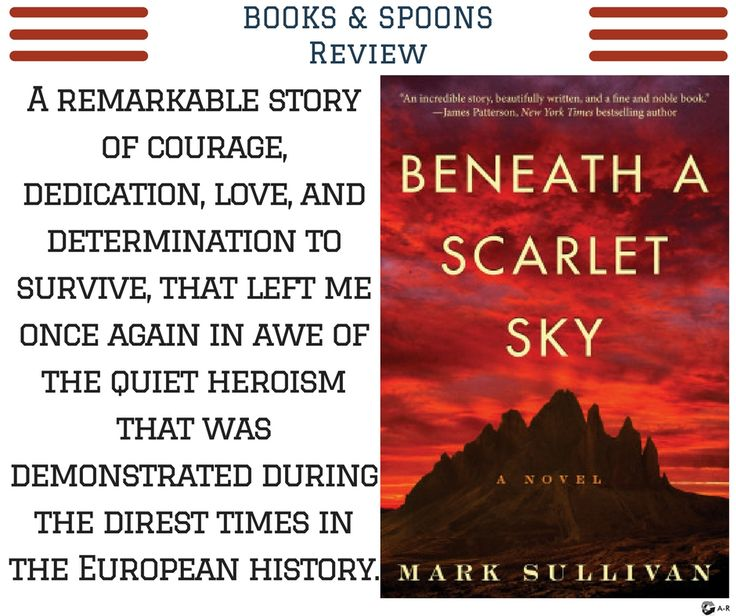 beneath a scarlet sky new york times review