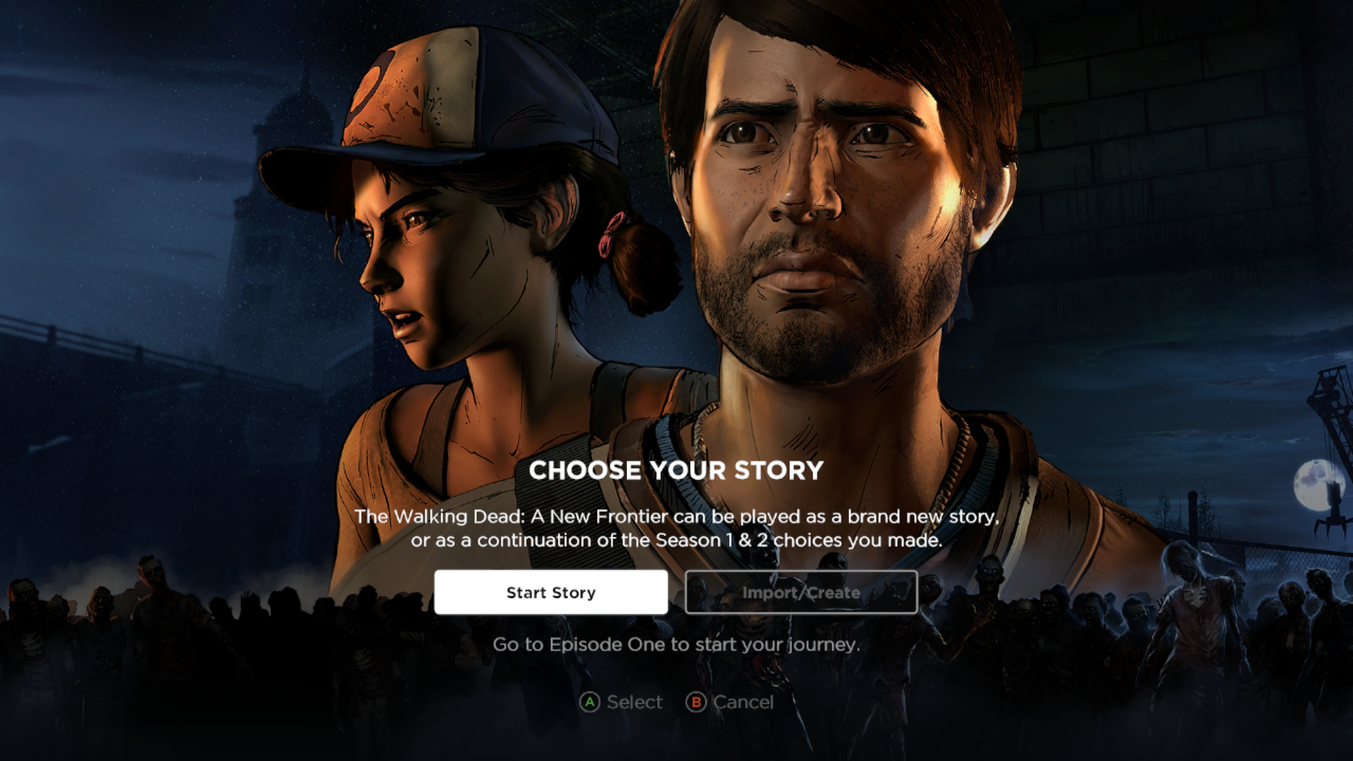 the walking dead a new frontier ps4 review