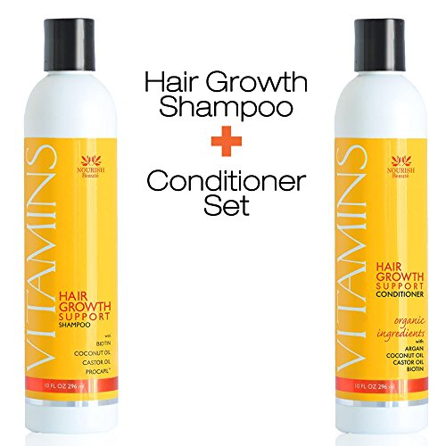 best hair growth shampoo and conditioner reviews