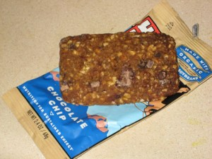 clif bar chocolate chip review