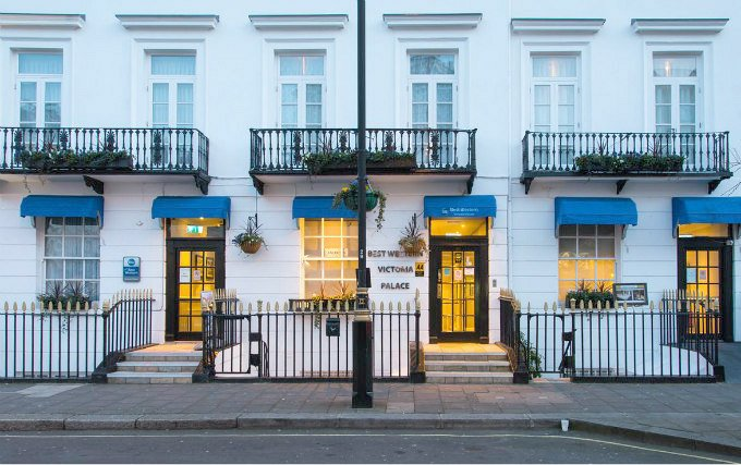 best western victoria palace london reviews
