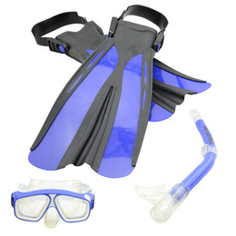 land and sea snorkel set review