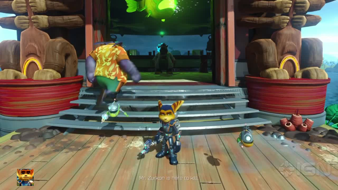 ratchet and clank ps4 review ign