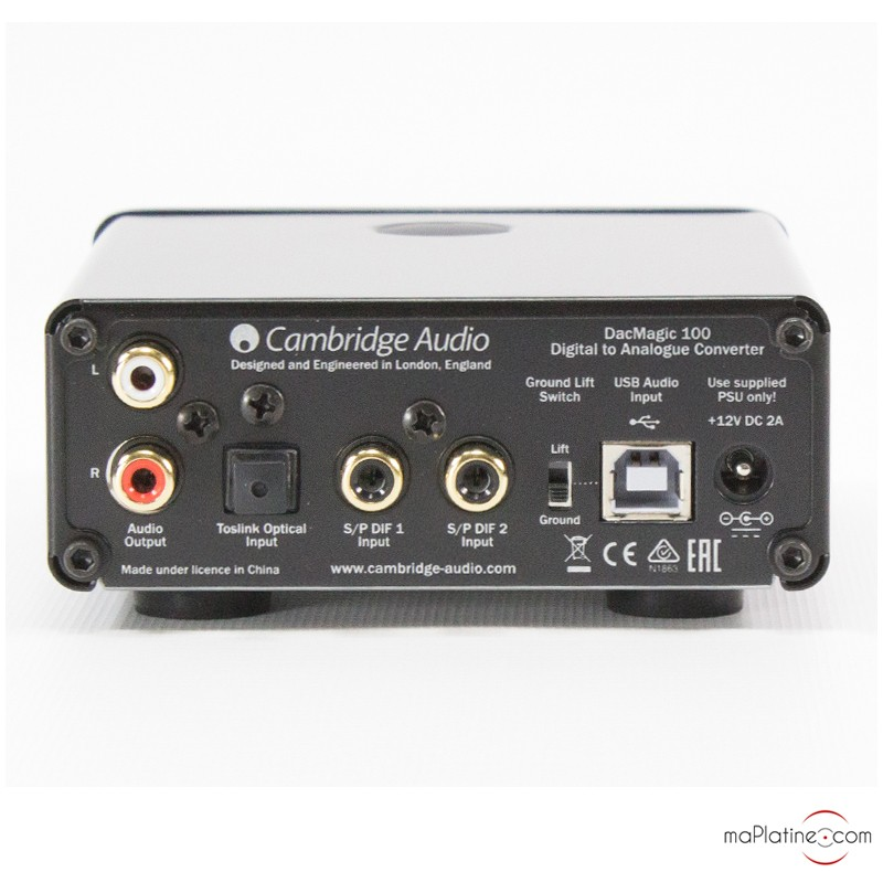 cambridge audio dacmagic 100 review stereophile