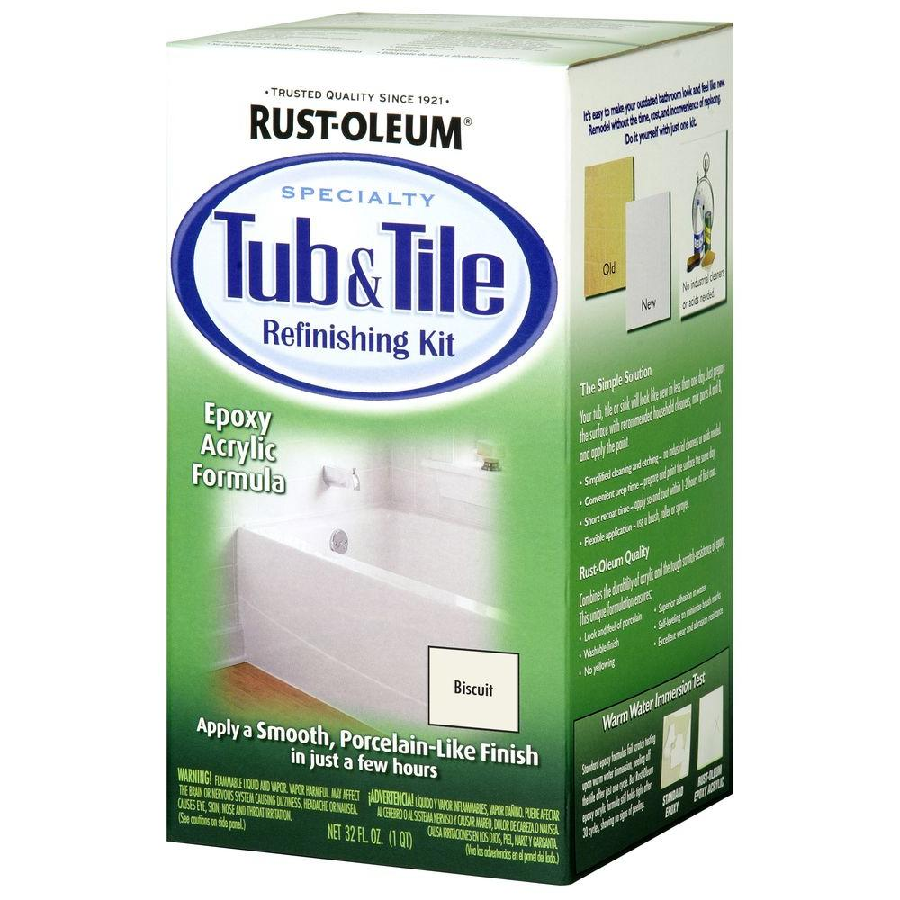 rustoleum tub and tile aerosol reviews
