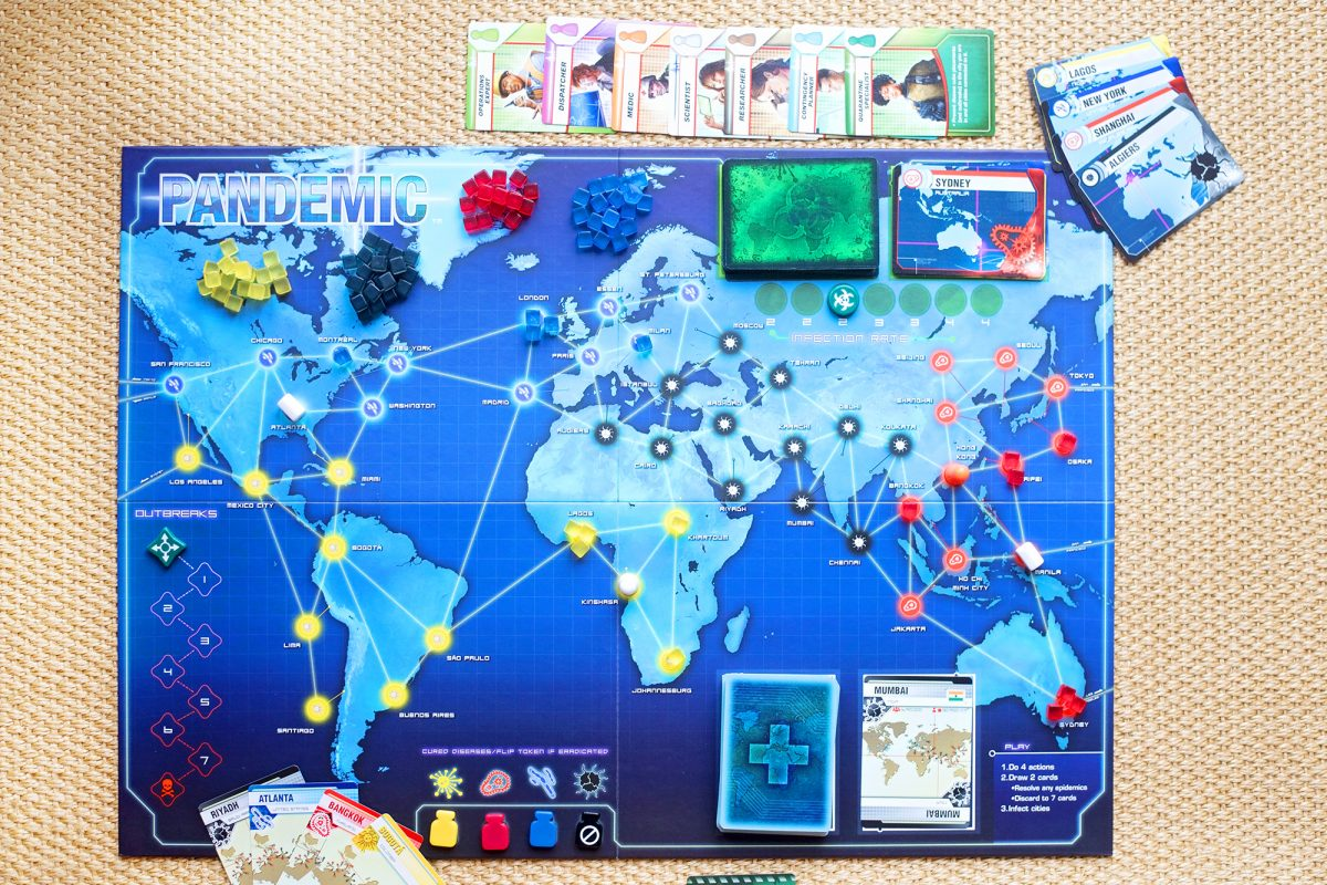 review of pandemic board game