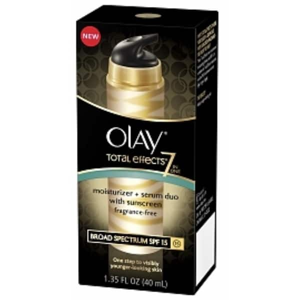 olay total effects 7 moisturizer serum duo review