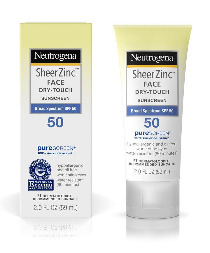 neutrogena dry touch spf 50 sunscreen review